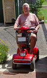 Mann auf elektrischem Buggy #2 Lizenzfreies Stockbild