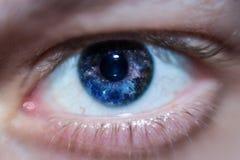 Mann-Auge Stockfotografie