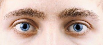 Mann-Augen Stockfotos