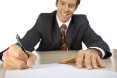 Mann bei der Arbeit Lizenzfreies Stockfoto