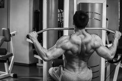 Mann bildet Übungen Lizenzfreies Stockbild