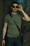 Mann in den Gläsern Lizenzfreie Stockfotografie