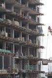 Mann an der Baustelle Lizenzfreies Stockfoto