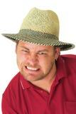 Mann, der Golf #1 spielt Lizenzfreie Stockfotos