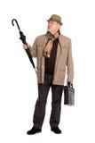 Mann in der Herbstkleidung. Lizenzfreie Stockfotos