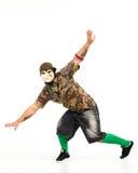 Mann in der Hip-Hop-Ausstattung Stockfoto