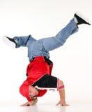 Mann in der Hip-Hop-Ausstattung Lizenzfreie Stockfotos