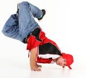 Mann in der Hip-Hop-Ausstattung Stockbild