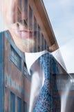 Mann in der Klage Lizenzfreie Stockfotos