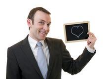 Mann in der Liebe Stockbild