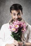 Mann in der Liebe Lizenzfreie Stockbilder