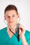 Mann in der medizinischen Uniform Lizenzfreies Stockfoto