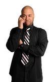 Mann, der Mobiltelefon verwendet lizenzfreie stockbilder