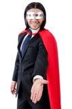 Mann, der rote Kleidung trägt Lizenzfreies Stockbild