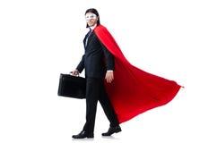 Mann in der roten Abdeckung Lizenzfreie Stockfotografie