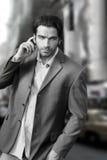 Mann in der Stadt Lizenzfreie Stockfotos
