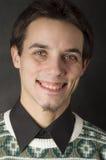 Mann in der Strickjacke Lizenzfreies Stockfoto