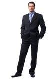 Mann in der Suite. Lizenzfreie Stockfotos