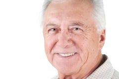 Mann des älteren Bürgers stockfotos