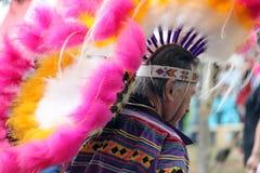 Mann des amerikanischen Ureinwohners lizenzfreies stockfoto
