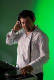 Mann DJ Stockfotos