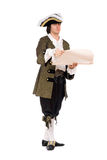 Mann in einem historischen Kostüm Lizenzfreie Stockfotografie