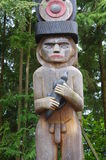 Mann für das Holz Stockbild