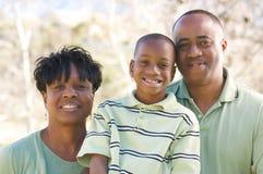 Mann, Frau und Kind Lizenzfreies Stockfoto
