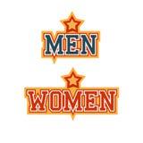 Mann-Frauen Lizenzfreies Stockfoto