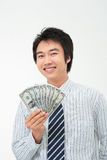 Mann in Geschäft I Lizenzfreies Stockfoto