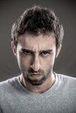 Mann gestört Lizenzfreie Stockfotografie