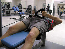 Mann in Gesundheitsklumpen 3 Lizenzfreies Stockbild