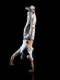 Mann Handstand Lizenzfreies Stockfoto