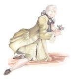 Mann im alten Kleid Lizenzfreies Stockfoto