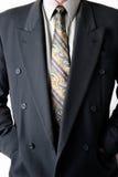 Mann im Anzug stockbild