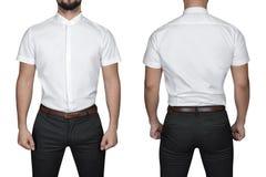 Mann im Hemd Stockfotografie