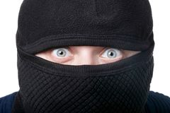 Mann im Kopfschutz lizenzfreies stockfoto