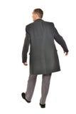 Mann im Mantel lizenzfreie stockfotos