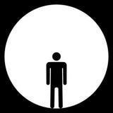 Mann im Ring Lizenzfreies Stockbild