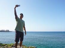 Mann im Urlaub in Japan 9 Lizenzfreies Stockfoto