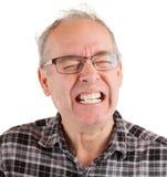 Mann ist in den Schmerz Lizenzfreies Stockbild