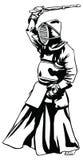 Mann Kendo Japan Lizenzfreie Stockbilder