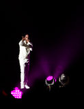 Mann-Konzert Boyz II in Montreal Lizenzfreie Stockbilder
