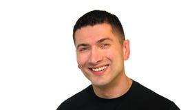 Mann-Lächeln Lizenzfreie Stockfotografie