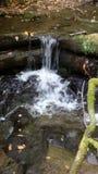 Mann machte Wasserfall Stockfotos
