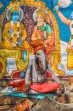 Mann mit Abweichung in Uttar Pradesh Stockbilder