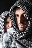 Mann mit arabischem Palästinenser Lizenzfreie Stockfotografie