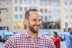 Mann mit Bart Lizenzfreie Stockfotos