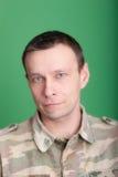 Mann mit blauen Augen Lizenzfreies Stockfoto