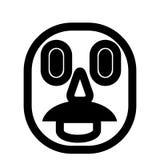 Mann mit dem Schnurrbart stock abbildung